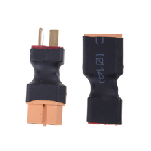 1pc XT60 to T Dean Plug Conversion Connector For Battery & Charger RC Quadcopter Hot Sale
