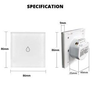 Image 5 - WiFi Smart Boiler Switch Water Heater Smart Life Tuya APP Remote Control Amazon Alexa Echo Google Home Voice Control Glass Panel
