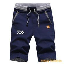 Для мужчин s дайв Рыбалка шорты летние спортивные быстросохнущие хлопковые Мужская одежда для рыбалки Большие размеры DAWA дышащие штаны рыболовные