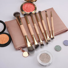 7pcs Makeup Brush Set Double-sided Blush Nose Eyeshadow Eyebrow Lip Foundation Brushes ZGOOD(China)