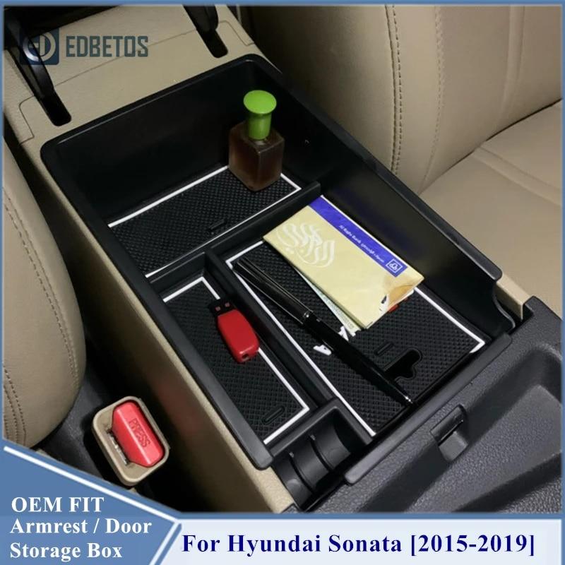 Interior Accessories Armrest Secondary Storage Glove Box Container ...