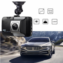 "Driving Recorder Car Video Recorder 3.0"" Screen Driving Record Night Vision Full HD 1080P Wide Angle 140 Degree High Resolution(China)"