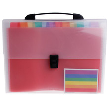 Yooap A4 organ bag expansion portable folder storage information book embossed