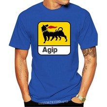 Agip – t-shirt unisexe pour hommes, Station Service, huile, pétrole, essence, voiture, course automobile, Cool pride, à la mode