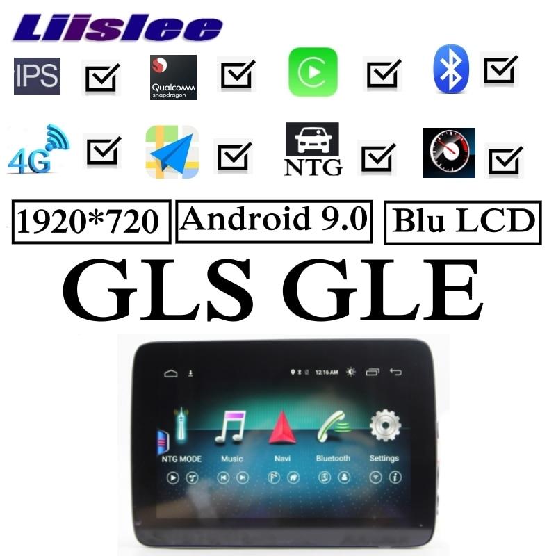 Para Mercedes-Benz MB GLS sobre las X166 2015 ~ 2019 NTG libre de añadir tecnología inalámbrica CarPlay coche Multimedia GPS Radio de Audio navegación NAVI