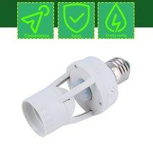 Neue Heiße AC 110-220V 360 Grad PIR Induktions Motion Sensor IR infrarot Menschlichen E27 Steckdose Schalter basis Led-lampe Lampe Halter