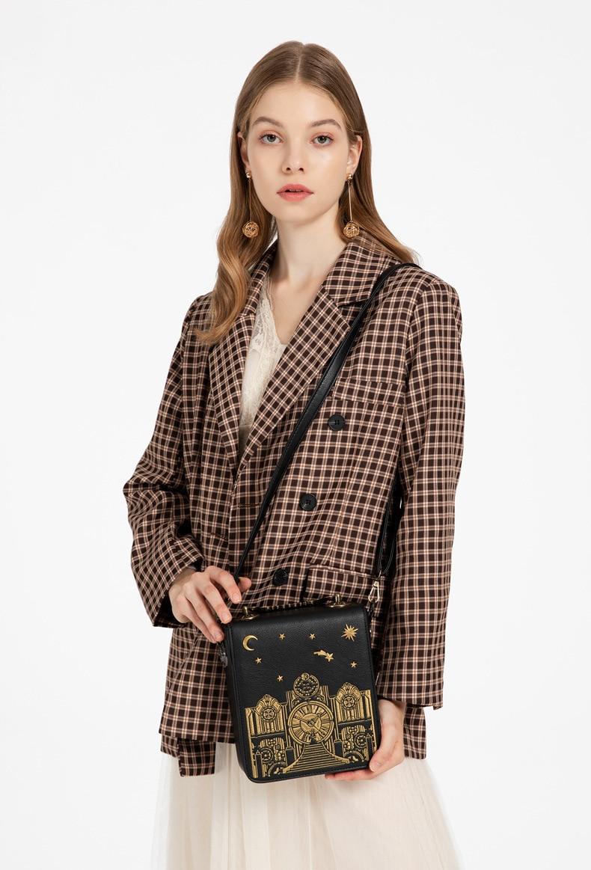Luxo designer de couro do plutônio bolsas