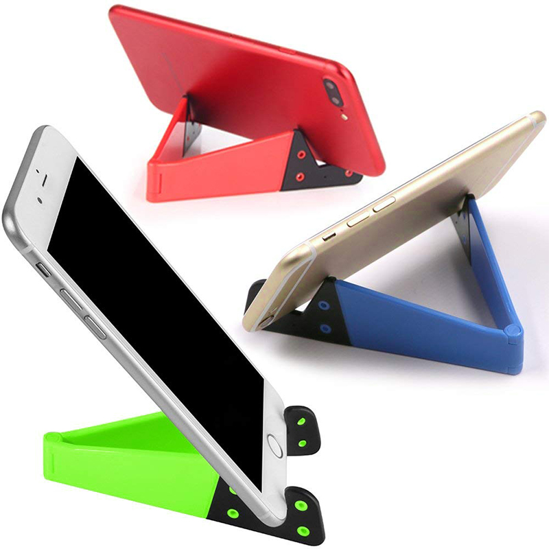 Phone Holder Foldable Cellphone Support Stand For IPhone X Tablet Samsung Huawei Adjustable Mobile Smartphone Holder Stand