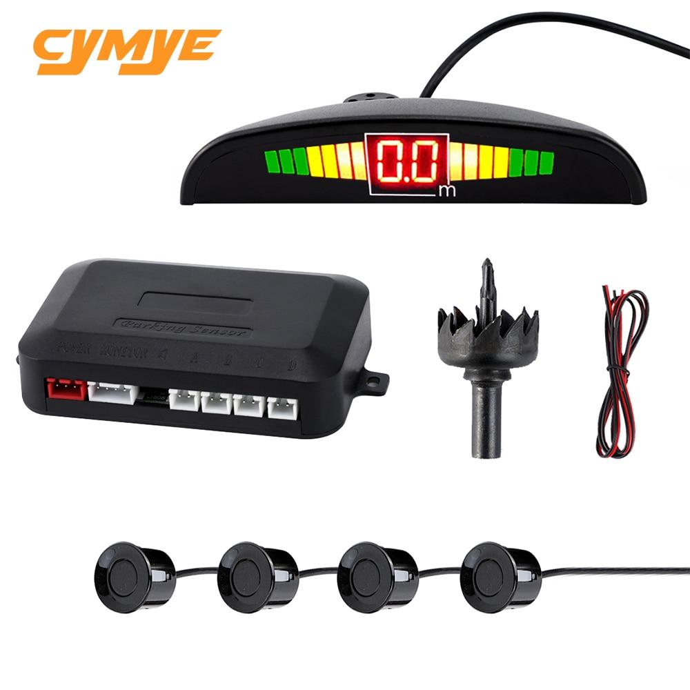 Cymye Car Auto Parktronic LED Parking Sensor Radar