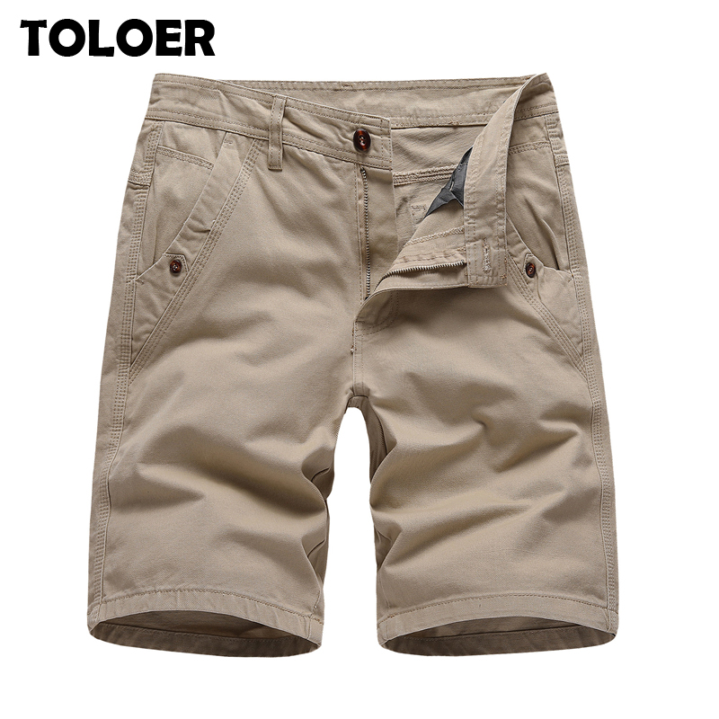 2020 Tactical Shorts Men Fashion Summer Cargo Shorts Male New Solid Knee Length Quality Street Young Casual Bermuda Shorts Homme