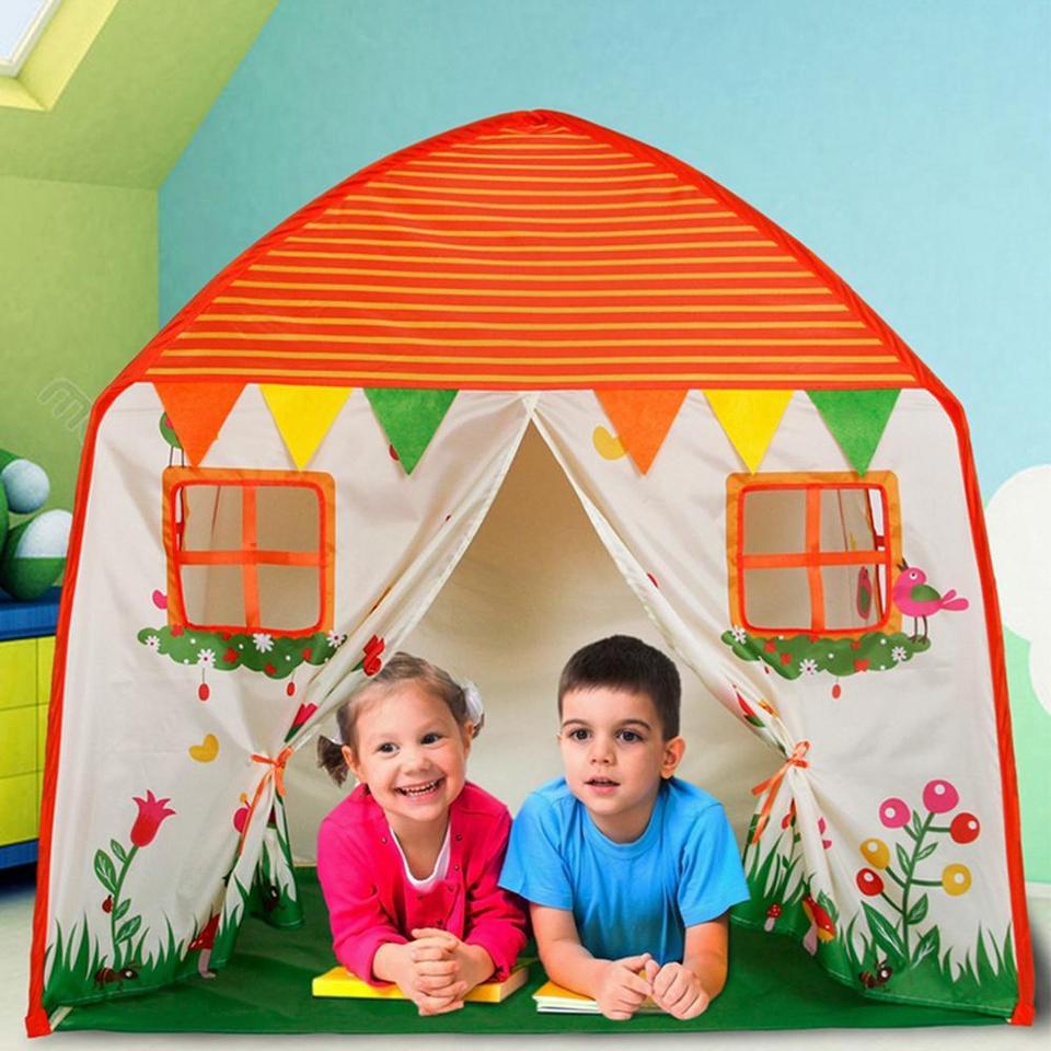 namiot dla dzieci transparentny