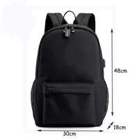 B-r-a-w-l Canvas Luminous Waterproof Anti-theft Laptop DJ Backpack for Teenager Boys Girls Student School Backpack Men Women bag