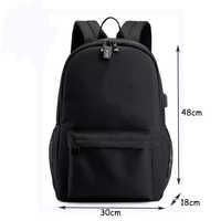 B-r-a-w-l Canvas Luminous Waterproof Anti-theft Laptop DJ Backpack for Teenager Boys Girls Student School Backpack Men Women bag