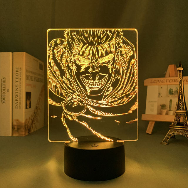 16 COLOR WITH REMOTE BERSERK 3D LED LAMP
