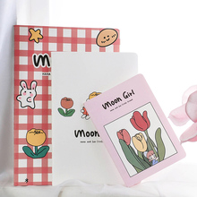 3pcs/set A5 B5 A6 cute notebook lovely portable cute carry small notepad school office supply memo sheets cartoon notebook gifts 1pcs random a6 96 sheets printed daily memo notepad creative hard copybook notebook greative office school tool supplies gift