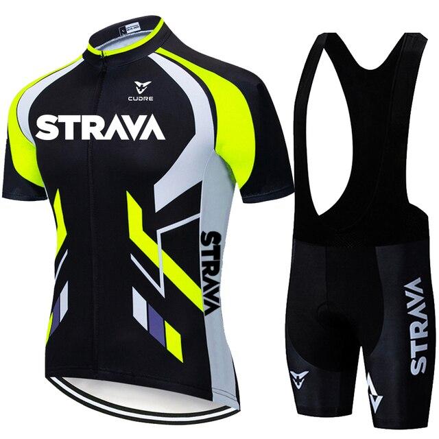 2020 equipe strava ciclismo jerseys bicicleta wear roupas bib gel define roupas ropa ciclismo uniformas maillot esporte wear 1