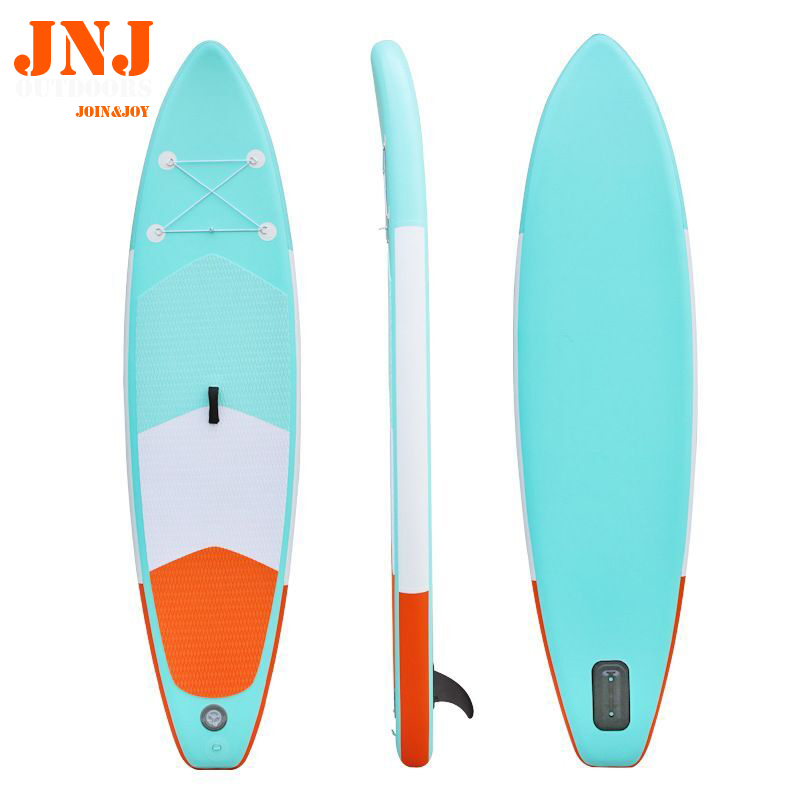 10' Inflatable Sup Board Isup With Bag And Accessories