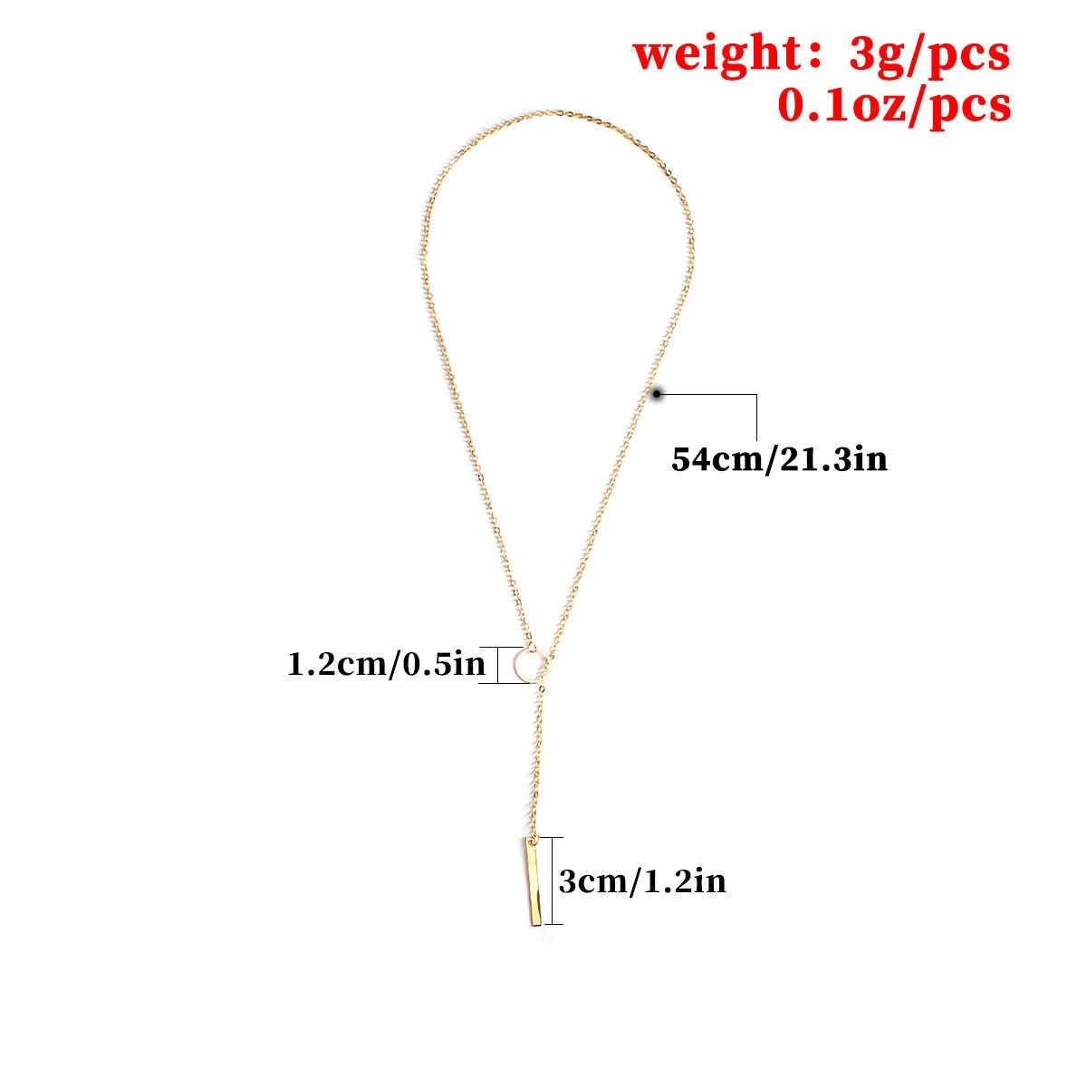ファッション合金の女性のネックレス & ペンダントネックレスチョーカー 2019 カラーゴールドクリスタル女性のギフト卸売