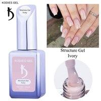 Kodyes-esmalte de uñas en GEL para manicura francesa, barniz de uñas en Gel para manicura francesa, en colores Pastel, UV Gelly, barnices híbridos de larga duración, 15ML