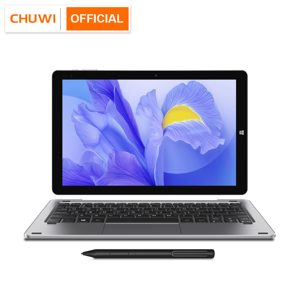 2020 NEW CHUWI Hi10 X 10.1 inch FHD Screen Intel N4100 Quad Core 6GB RAM 128GB ROM Windows Tablets Dual Band 2.4G/5G Wifi BT5.0