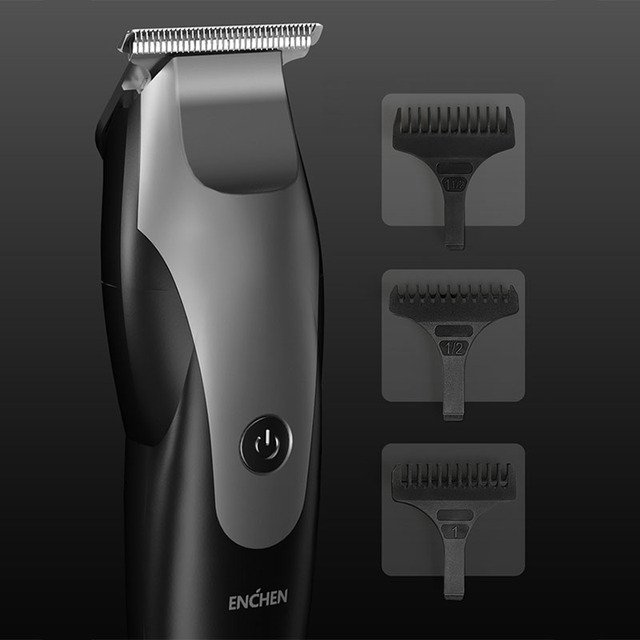 Xiaomi hair trimmer beard shaver electric hair clipper adult razor professional trimmer angle razor haircut ENCHEN hair clipper 4