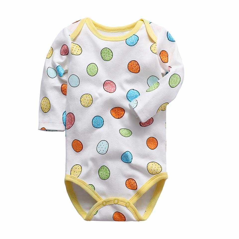 0-2 jaar Kwaliteit 100% Katoen Pasgeborenen Baby Body Lange Mouwen Babykleertjes cartoon Dinosaurus Body Infant Jumpsuits Body suits