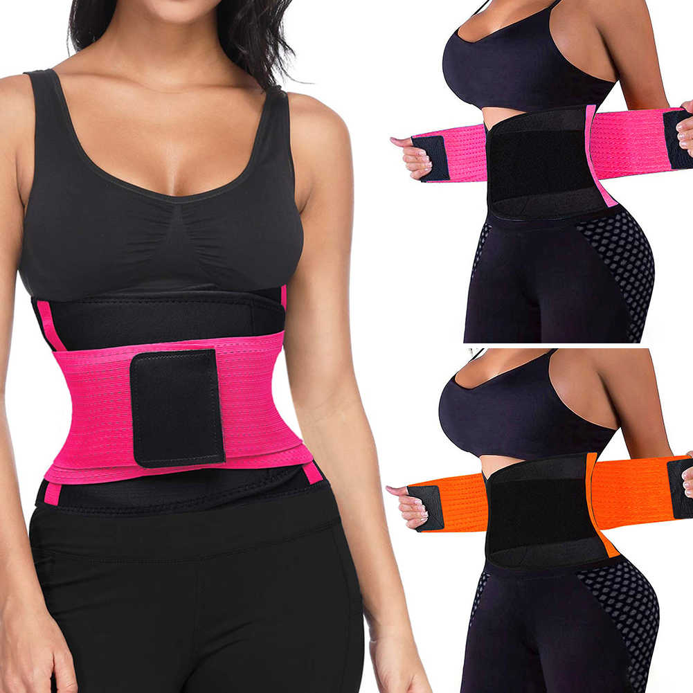 Waist Trainer Sweat Belt for Women Weight Loss Tummy Body Shaper Girdle