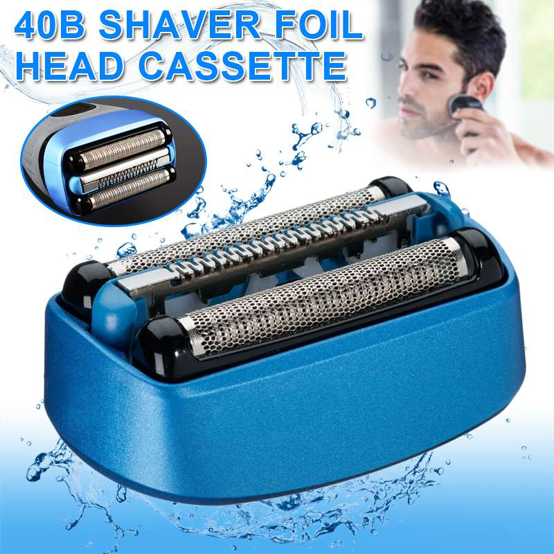 Replacement Shaver Foil Head Cassette For Braun 40B For CoolTec CT2s CT2cc CT3cc CT4s CT4cc CT5cc CT6cc Head Blade