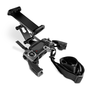 Image 4 - DJI Remote Control Holder Bracket Phone Tablet Front Bracket Holder for DJI Mavic 2 Pro DJI Mavic Air Spark Mount Clip for Pad