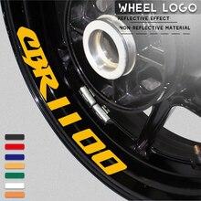 Autoadesivo del motociclo impermeabile decorativo ruota della banda logo con riflettente MOTO anello interno della decalcomania per HONDA cbr CBR1100 1100
