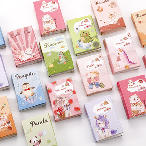 Cute Panda Boxed Memo Pad Kawaii Cat Sticky Notes Stationery Sticker Index Posted It Planner Stickers Office School Supplies