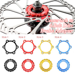 Stainless Steel Gasket Bicycle Disc Brake Rotor Stainless Steel Hub to 6-Bolt Disc Brake Rotor Adapter For MTB Mountain Road