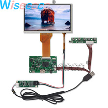 7.0 inch 800*480 TFT lcd display Monitor Module + Resistive touch Digiziter USB HDMI FPC 50pin driver board DIY Kit 12 1 inch touch panel for 4 wire resistive touchscreen tablet touch screen control in business machines usb driver board