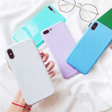 Silicone Glitter TPU Soft Candy Color Cover Phone Cases For
