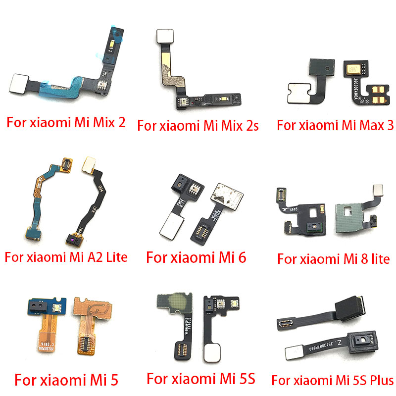 Proximity Light Sensor Flex Cable Distance Sensing Connector For Xiaomi Mi 5 5S Plus 6 8 A2 Lite Max 3 Mix 2 2S