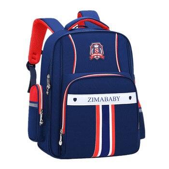 New Waterproof children orthopedic school bags For Boys Girls Large capacity Schoolbag Primary School Backpacks Mochila Infantil