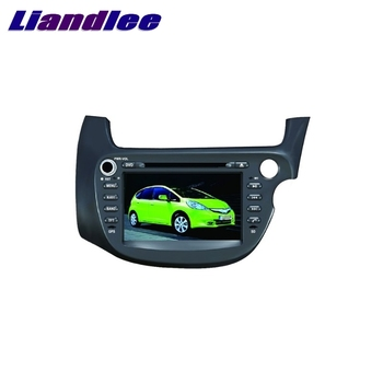 For Honda FTT Jazz Right Hand Drive 2007~2019 LiisLee Car Multimedia TV DVD GPS Audio Hi-Fi Radio Original Style Navigation