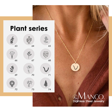 Choker Necklace Jewelry 316l-Stainless-Steel Emanco Female Gold-Color Cute Women Plants