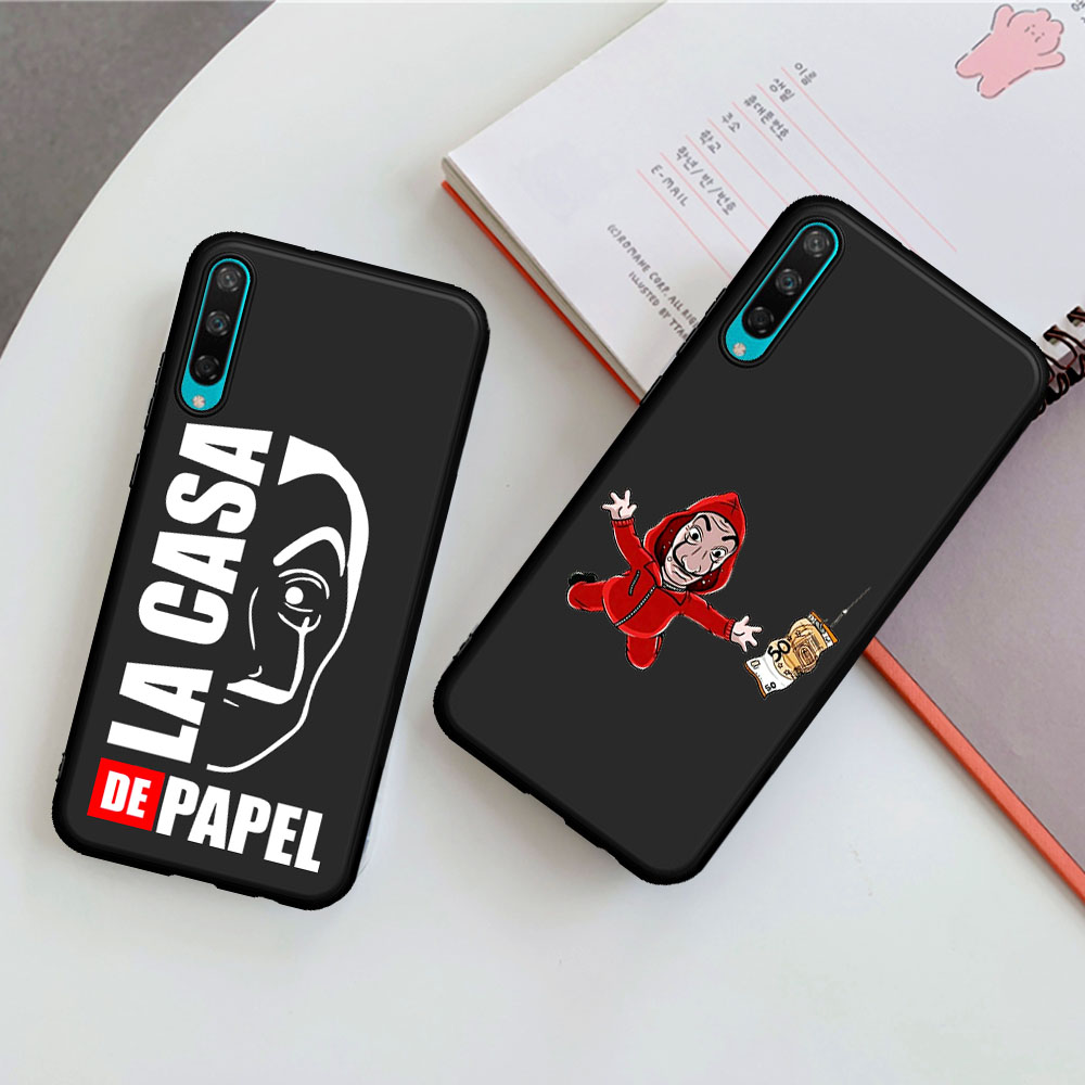 New Spain TV La Casa de papel Money Heist House phone case For Huawei Honor 8 Lite 8A 8X 8C 8S 9X Pro 10 Lite 20 Pro V20 10i 20i