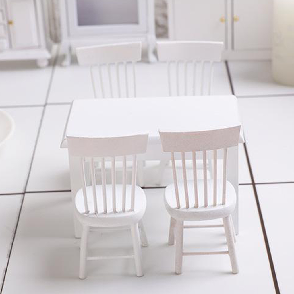 1:12 escala bonecas casa mesa de madeira em miniatura móveis sala estar decoração