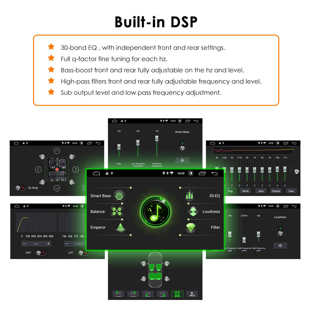 1 din Android 9.0 lecteur DVD de voiture pour BMW X5 E53 E39 GPS stéréo Audio Navigation multimédia écran tête unité dvd automotivo 2 grammes