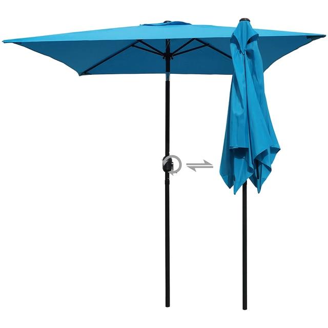 Patio Umbrella 6.5 Ft Square with Tilt and Crank 2