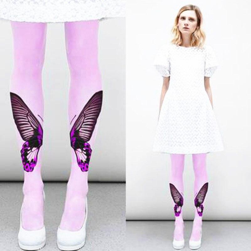 РУИН женске гаћице Лептир штампање модних ногавица од баршуна
