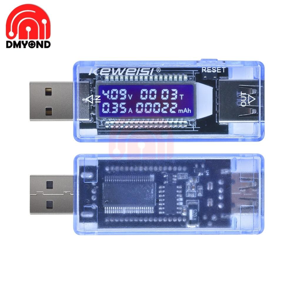 USB ЖК дисплей Ток Напряжение ёмкость тест er метр Мобильный детектор уровня мощности батарея тест Вольтметр Амперметр банк питания разъем Измерители тока      АлиЭкспресс