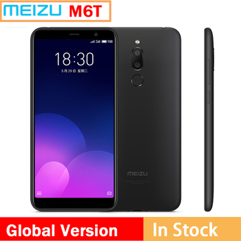 Global version MEIZU 6T MEILAN m6t  4G LTE 2GB 16GB ROM Octa Core 5.7inch IPS Screen Dual Rear Camera Cell phone