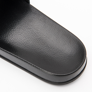 Image 3 -  Black Slippers Black and White Shoes Non slip Slides Bathroom Summer Casual Style Soft Sole Flip Flops
