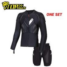 Мотоциклетная куртка SCOYCO, защитная Экипировка для мотокросса, Черная