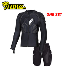 Scoycoオートバイ防護服モトクロス保護モトジャケットオートバイ鎧レーシングボディアーマーサイズ黒モト鎧