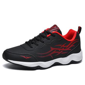 Buty do biegania dla mężczyzn buty sportowe buty do chodzenia na świeżym powietrzu buty do biegania męskie sznurowane buty sportowe Zapatillas obuwie męskie tanie i dobre opinie CN (pochodzenie) ADIPURE Zapewniające stabilność Na betonową podłogę Początkujący oddychająca Zwiększające wysokość