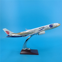 40CM 1:172 Airbus A330 Toy model Alloy airplane China international airlines w base Without wheels air plane collectible display